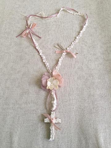 946536e4dcf Complementos para Comunión y Arras - collares y rosarios niña